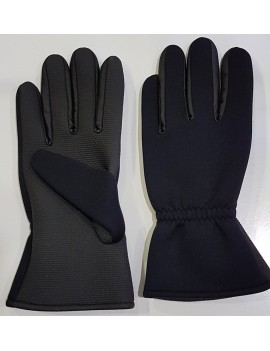 GUANTES NEOPRENO COLOR NEGRO