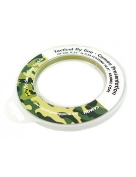 LINEA SOLDARINI TACTICAL FLY LINE 0,55 mm. CAMOU