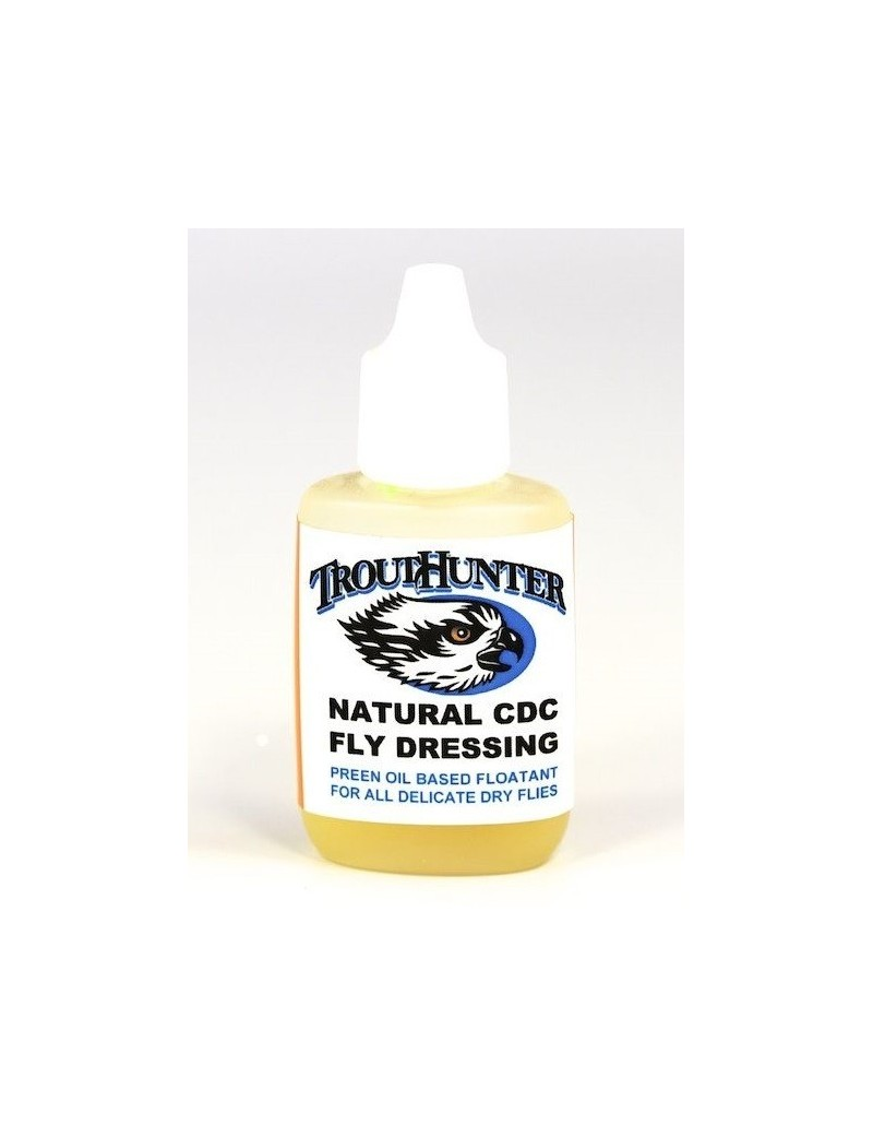 NATURAL CDC FLY DRESSING TROUTHUNTER