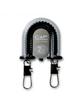 2-in-1 Retractor w Fly Catcher Black