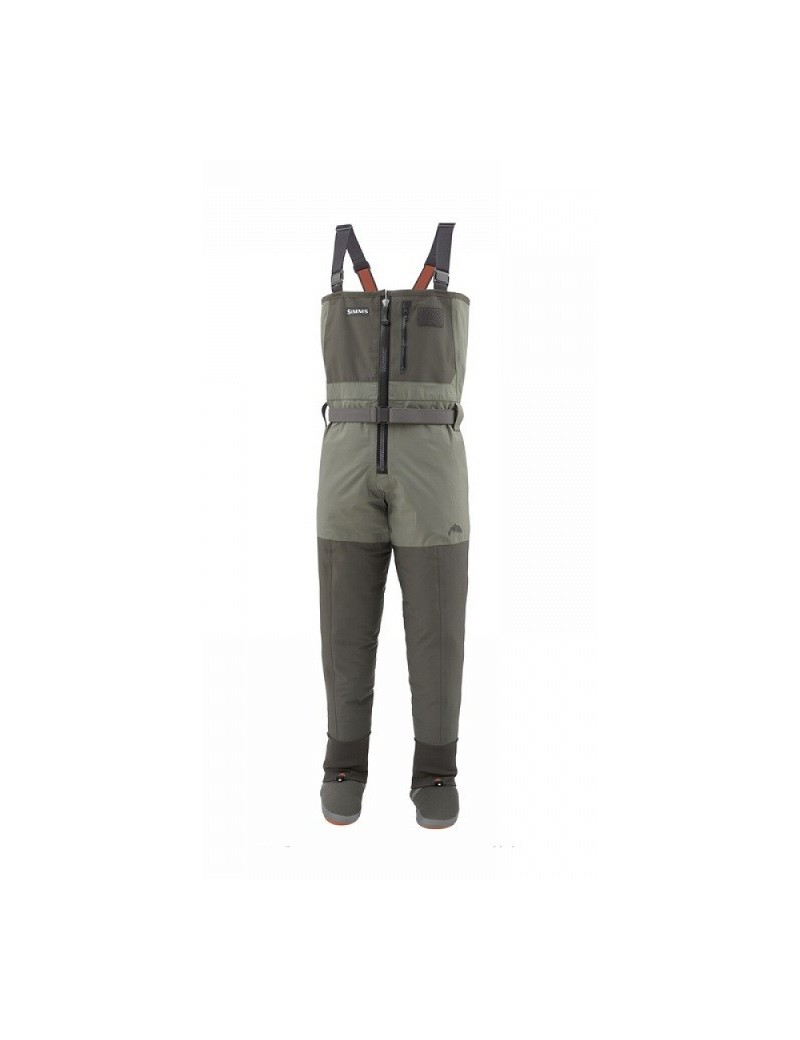 WADER SIMMS FREESTONE Z STOCKINGFOOT DARK GUNMETAL