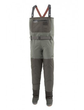 WADER SIMMS FREESTONE STOCKINGFOOT DARK GUNMETAL