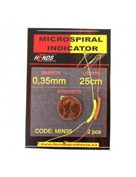 MICROSPIRAL INDICATOR HENDS ORANGE AND YELLOW - 2 pcs