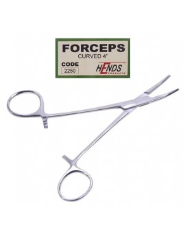 FORCEPS CURVED 2250 HENDS.