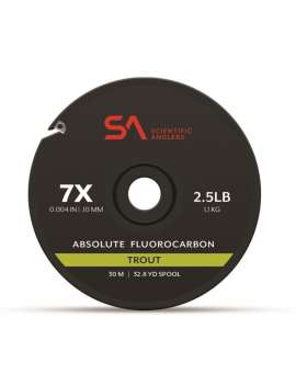 ADSOLUTE FLUOROCARBON TROUT TIPPET SCIENTIFIC ANGLERS