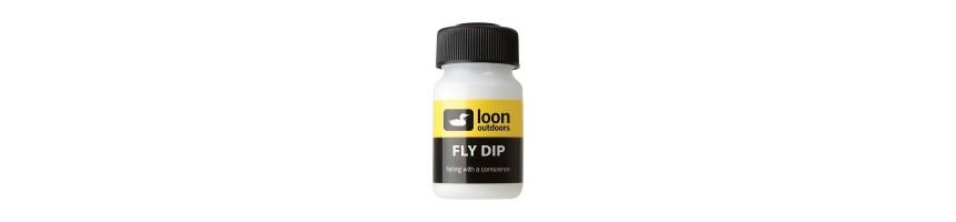 Tenemos gran surtido de flotabilizadores  para moscas, en gel, polvos, sales, silicona, echa un vistazo