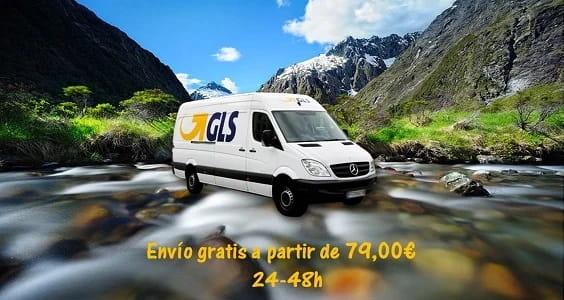 Envio gratis por compras superiores a 79€